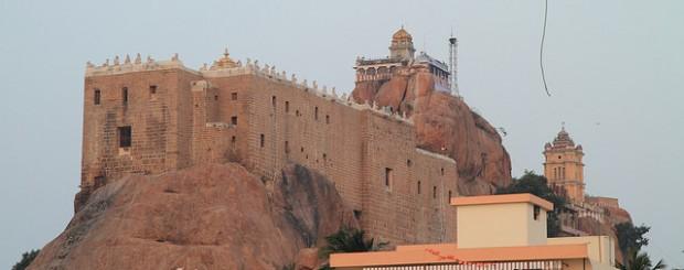 Rockfort Vinayagar Temple